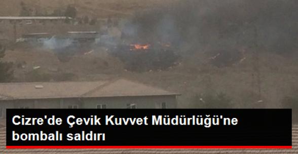 Şırnak'ın Cizre İlçesinde Polis Kontrol Noktasında Patlama Meydana Geldi.