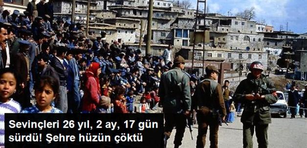 Şırnak'taki 26 Yıl 2 Ay 17 Gün Önceki Sevinç Yerini Hüzüne Bıraktı
