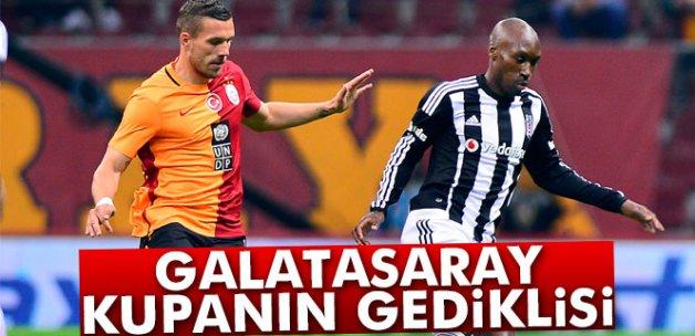 Süper Kupa'da Galatasaray önde