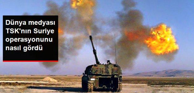 Suriye Operasyonu Dünya Medyasında