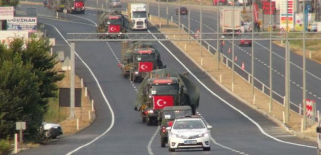 Tanklar, Tekirdağ'a ulaştı