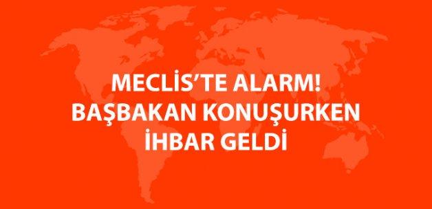 TBMM'de Alarm! İhbar Geldi, Girişler Kapatıldı