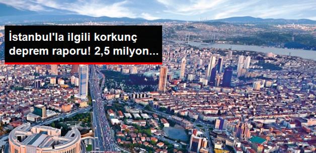TMMOB: Olası Bir Marmara Depreminde İstanbul'da 50 Bin Yapı Zarar Görecek