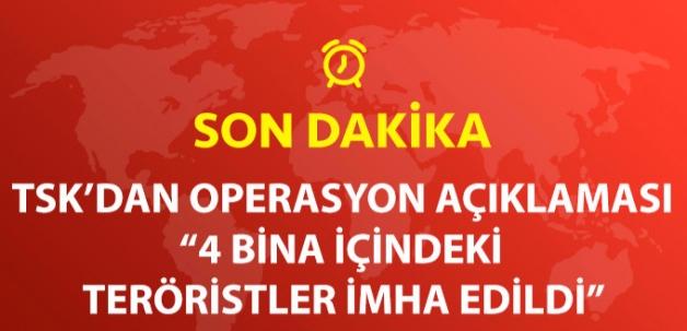 TSK: 8 Günde 32 Köy Teröristlerden Temizlendi
