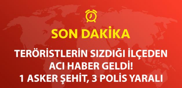 Tunceli'de İlçeye Sızmaya Çalışan Teröristlerle Yoğun Çatışma