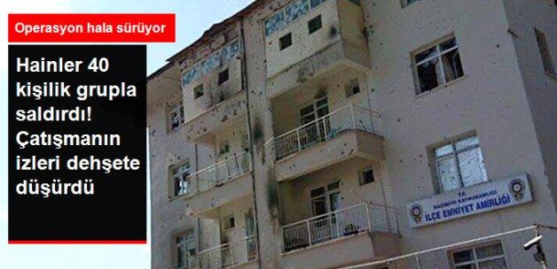 Tunceli'deki Şiddetli Çatışmanın İzleri Ortaya Çıktı