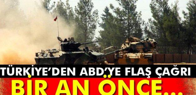 Türkiye'den ABD'ye çağrı: Bir an önce...