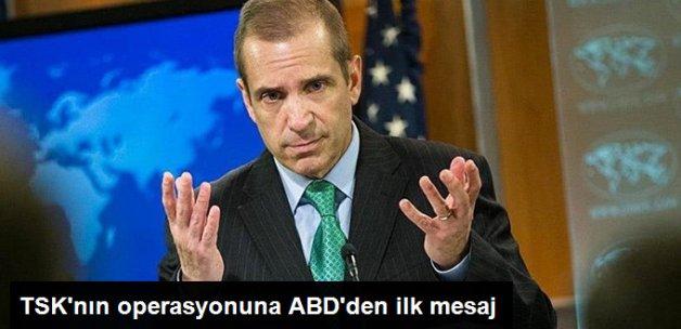 Türkiye'nin Cerablus Harekatı İçin ABD'den İlk Açıklama