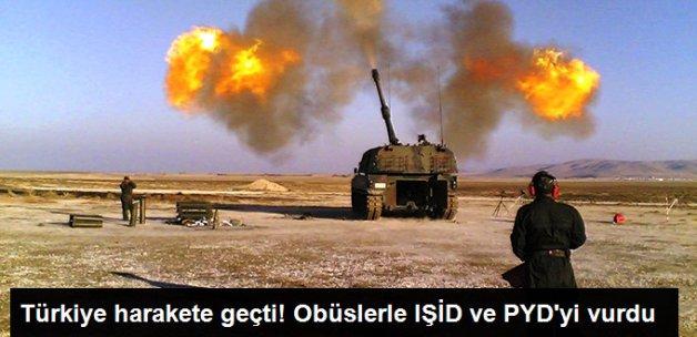 Türkiye, Obüslerle IŞİD ve PYD'yi Vurdu