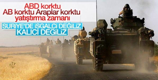 Türkiye, Suriye'de kalıcı değil
