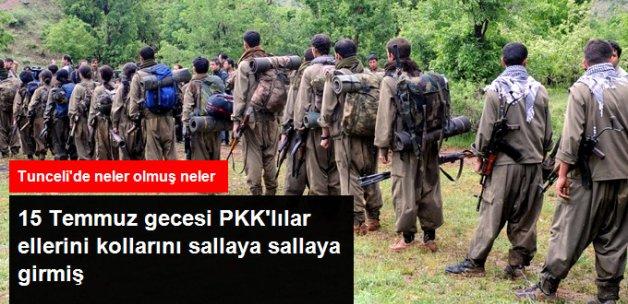 Türkiye'ye Sızmak İçin Bekleyen PKK'lı Grup, 15 Temmuz Gecesi Amacına Ulaşmış