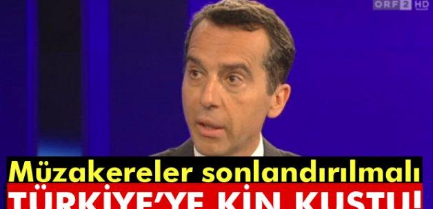 Türkiye'ye kin kustu: Müzakereler sonlandırılmalı