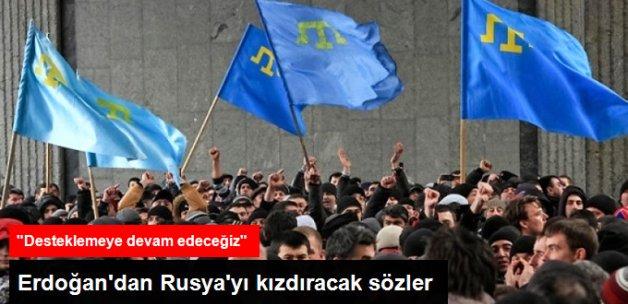 Ukrayna: Erdoğan, Kırım ve Tatarlar İçin Destek Verdi