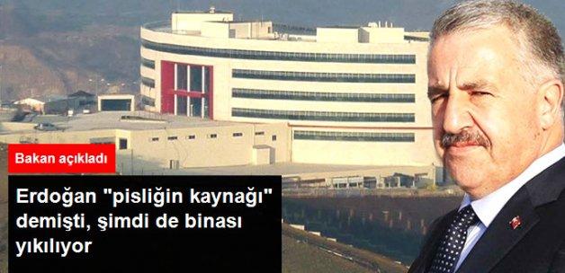 Ulaştırma Bakanı: TİB Binasını Yıkabiliriz