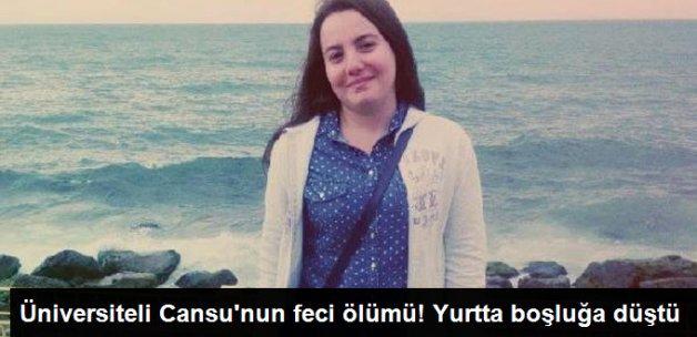Üniversiteli Cansu, Yurtta Asansör Boşluğuna Düşerek Öldü