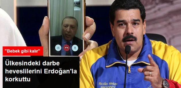 Venezuela Lideri, Darbeye Kalkışacaklara Türkiye'yi Örnek Gösterdi