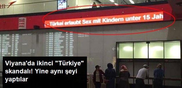 """Viyana Havalimanı'nda İkinci """"Türkiye"""" Skandalı"""