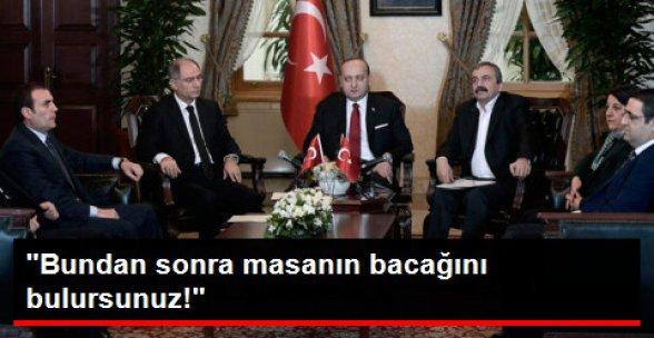 Yalçın Akdoğan'dan PKK'ya: Bundan Sonra Masanın Bacağını Bulursunuz!