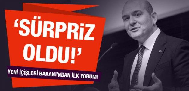 Yeni İçişleri Bakanı Soylu'dan ilk yorum!