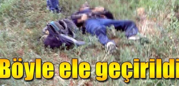 Yol kesmek isteyen PKK'lı ölü olarak ele geçirildi