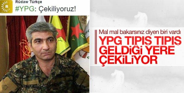 YPG: Fırat'ın batısından çekiliyoruz