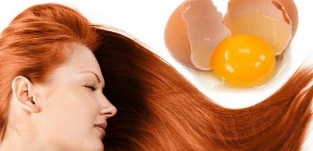 Yumurta sarısı saç maskesi tarifleri ve saça faydaları