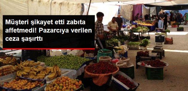 Zonguldak'ta Müşteriye Kötü Davranan Esnafa Afişli Kapatma Cezası Verildi