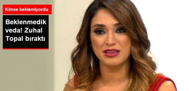 Zuhal Topal, FOX TV'yi Bıraktı