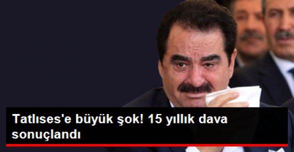 15 Yıllık Dava Sonuçlandı! Tatlıses 9 Bin Lira Ödeyecek