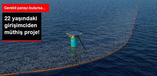 22 Yaşındaki Girişimciden Okyanusları Temizleyecek Müthiş Proje