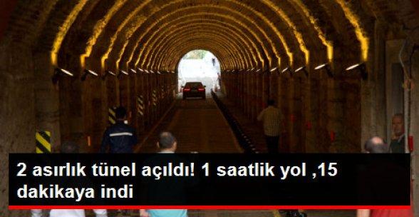 2 Asırlık Beylerbeyi Sarayı Tüneli Trafiğe Açıldı