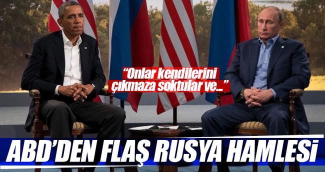 ABD'den Flaş Rusya hamlesi