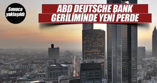 """""""ABD ile Deutsche Bank 5,4 milyar dolarlık anlaşmaya yakın"""""""