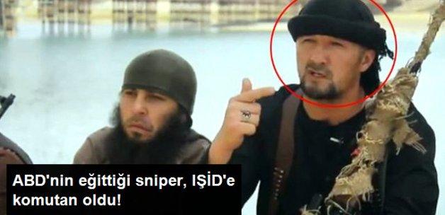 ABD'nin Eğittiği Tacik Sniper, Işid'e Komutan Oldu!