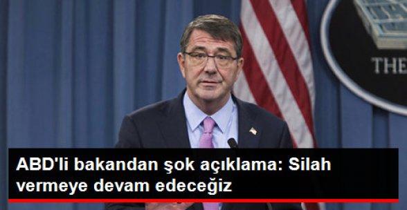 ABD Savunma Bakanı: Suriyeli Kürtlere Silah Vermeye Devam Edeceğiz
