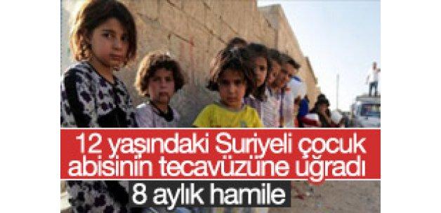 Abisi tarafından tecavüze uğrayan Suriyeli çocuk hamile