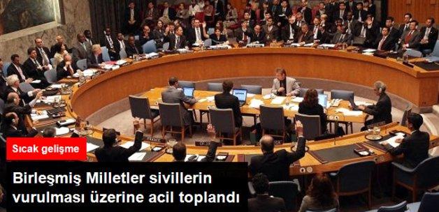 Acil Toplanan BM Güvenlik Konseyi Halep'i Görüştü