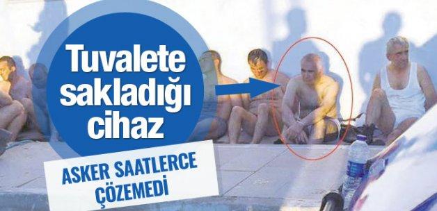 Adil Öksüz'ün tuvalete sakladığı cihaz bakın ne çıktı!
