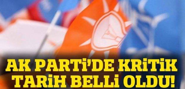 AK Parti İstişare Toplantısı 21-23 Ekim arasında