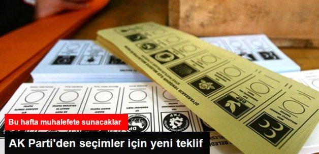 AK Parti, Seçimler İçin Yeni Teklif Önerisi Hazırlığında