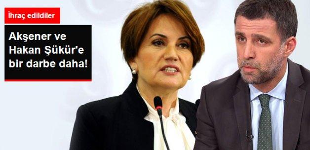 Akşener'in Danışmanı, Hakan Şükür'ün Meclis Çalışanları da İhraç Edildi
