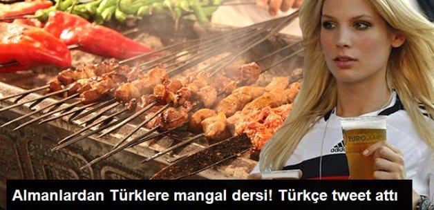 Alman Büyükelçiliği'nden Türklere Mangal Dersi