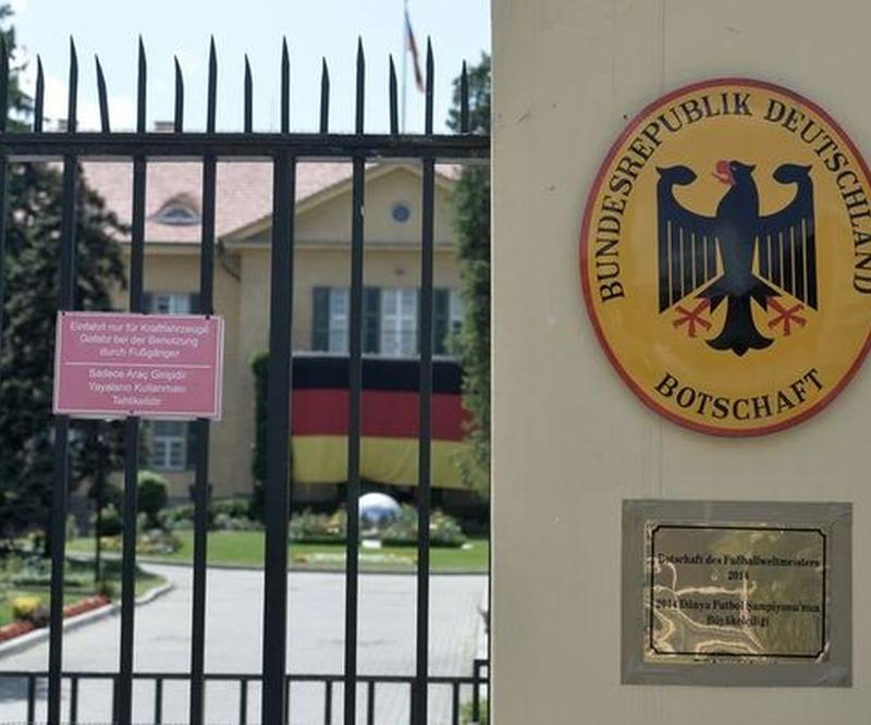 Almanya'dan flaş karar. Türkiye'deki temsilcilikler kapatıldı