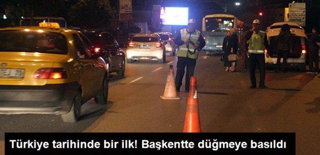 Ankara'da 8 Bin 500 Polisin Katılımıyla Asayiş Operasyonu Başlatıldı