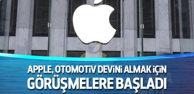 Apple, otomotiv devini almak için görüşmelere başladı