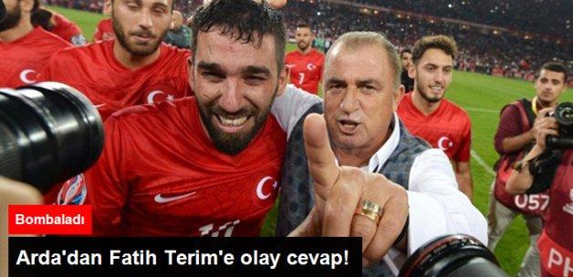 Arda Turan, Kendisini Milli Takıma Almayan Fatih Terim'e Cevap Verdi