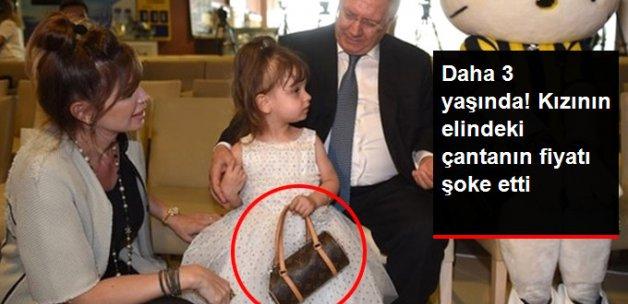 Aziz Yıldırım'ın Kızının Elindeki Çantanın Fiyatı 3 Bin 600 TL