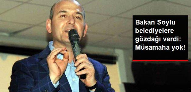 Bakan Soylu'dan Terörle Bağlantılı Belediyelere Gözdağı: Müsamaha Yok!