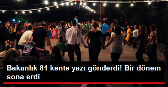 Bakanlık Kararıyla Sokak Düğünü Yapmak Yasaklandı