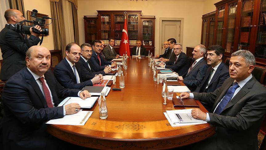 Başbakan Yıldırım başkanlığındaki Ekonomi Koordinasyon Kurulu toplantısı sona erdi